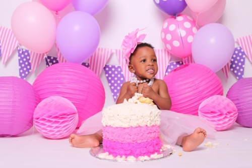 Cake smash shoot bryanston